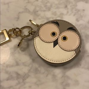 Tory Burch RARE owl coin purse